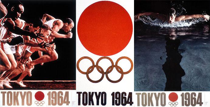 1964年 オリンピックポスター